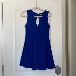 Lulus royal blue dress